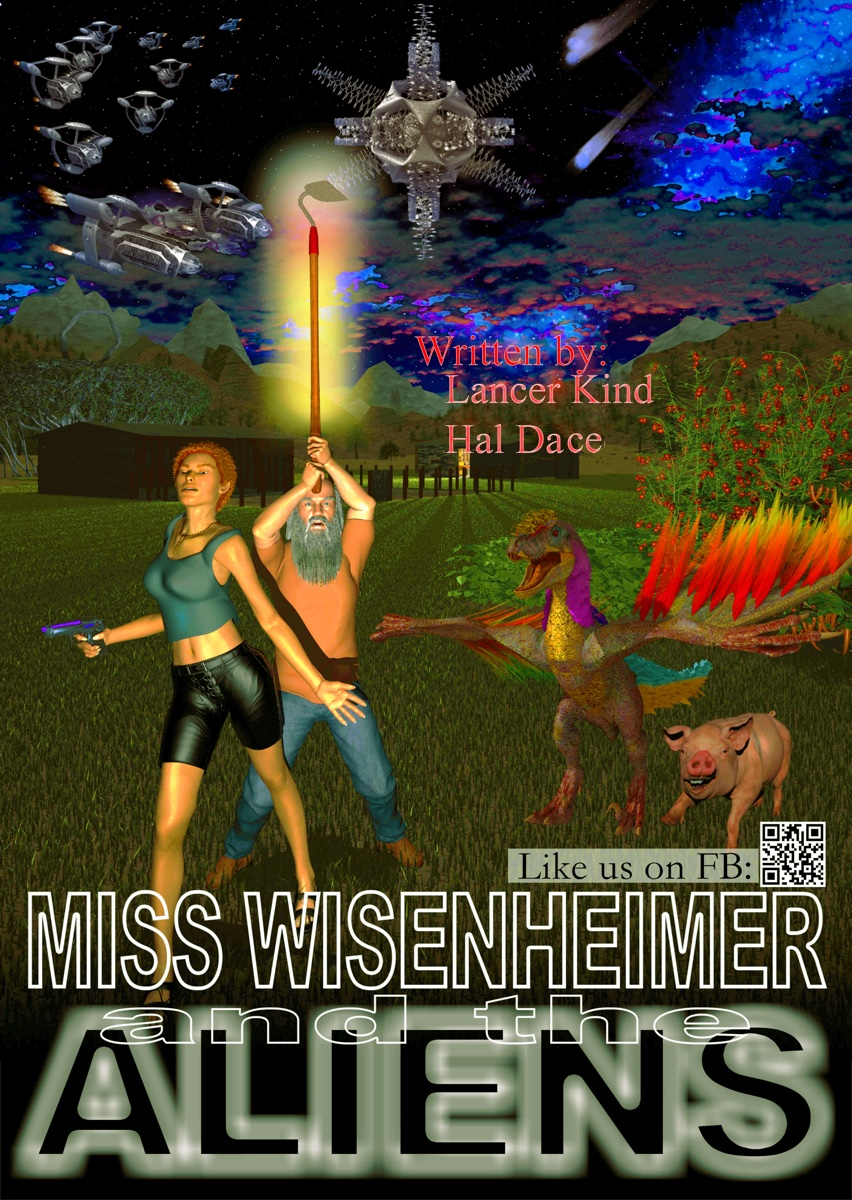 MISS WISENHEIMER AND THE ALIENS movie poster.